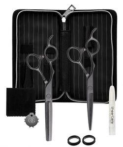 Olivia Garden Silk Cut PRO  Matt Black 2er Set LH 5,75+Eff