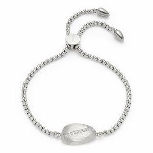 Leonardo Jewels Armband Ciottolo, Armschmuck, Modeschmuck, Edelstahl, Glaskristalle, 018294