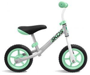 Skids Control Laufräder 2 Räder loopfiets 10 Zoll Junior Grau/Türkis