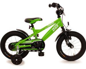 Fahrrad 14 Zoll Kinderfahrrad Rücktrittbremse Ständer Kinderrad Jungen Rad Grün