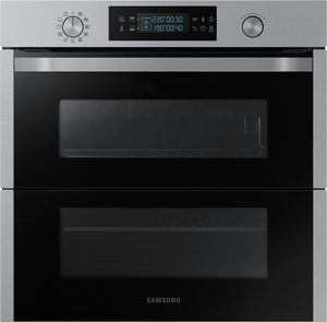 Samsung Einbaubackofen 60cm, Pyrolyse, Dual Cook, NV75N5671RS/EG 75L