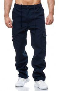 Herren Cargo Hose Arbeitshose Gefüttert Workwear H2000, Farben:Blau, Größe Hosen:XXL