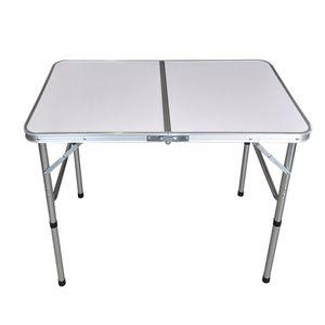 Wohaga® Aluminium Campingtisch 'Bergen' Klapptisch 90x60x70cm