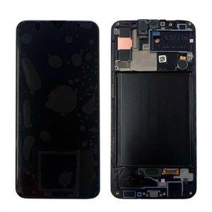 Original Samsung Galaxy A30s A307F LCD Display Touch Screen Bildschirm Digitizer / GH82-21190A / GH82-21329A / GH82-21191A Black