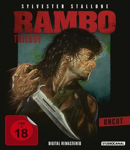 Stallone,Sylvester/Crenna,Richard - Rambo Trilogy/Uncut - Blu-ray Boxen