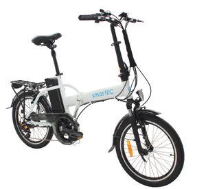 smartEC Camp-20H Falt Pedelec/E-Bike 20 Zoll matt Weiß