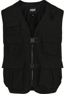 Urban Classics TB3470  Tactical Vest, Größe:M, Farbe:Black