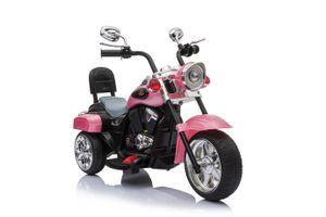 Harley Trike Chopper Kindermotorrad Elektromotorrad Kinderfahrzeug MP3 Pink (TR1501)