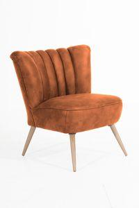 Max Winzer Alessandro Sessel - Farbe: cognac - Maße: 70 cm x 66 cm x 80 cm; 2877-1100-2078136-F01