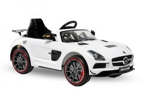Mercedes SLS Deluxe Kinderfahrzeug Elektrofahrzeug Kinderelektrofahrzeug Weiß