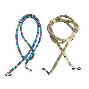 2 Stück Brillenkette Brillenband Sonnenbrille Druckfarbe Lesebrille Sport Halter Antirutsch