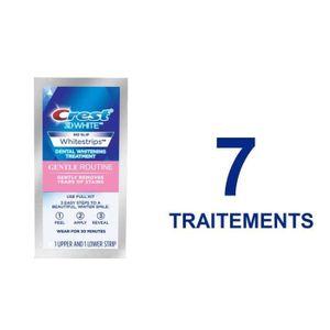 Crest Whitestrips Gentle Routine 7 Streifen für 7 Tage, 1x 30 Minuten pro Tag