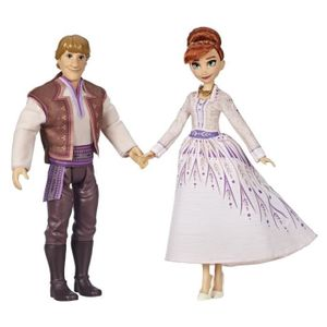 Hasbro E5502 Disney Frozen 2 Eiskönigin Anna & Kristoff Prinzessin Puppe Set Neu