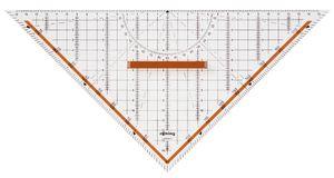 rotring Geometrie Dreieck Centro mit abnehmbarem Griff