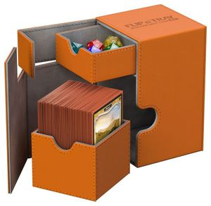 Ultimate Guard - Flip Deck Box 100+ (orange)