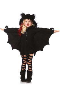 Kids Cozy Bat, Farbe:Black, Größen:S