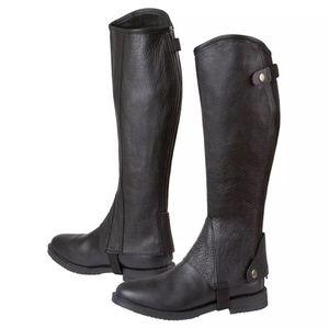 Kerbl Stiefelschaft Elasto Größe XL Schwarz 324033