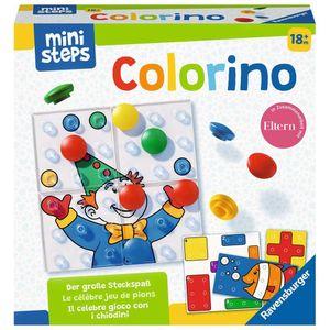 RAVENSBURGER ministeps Colorino Lernspiel Farbenlernspiel Steckspiel Spielzeug
