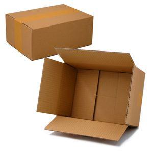 Stabiler DHL Paket Karton Größe S REPLIKAT: 25,0 x 17,5 x 10,0 cm.