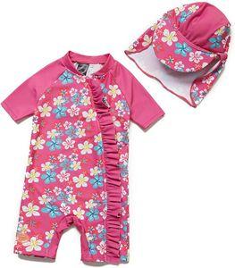 Bonverano UV Schutz UPF 50+ Overall Mädchen 12-18 Monate