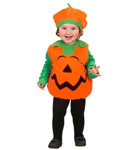 Widmann 1890Z - Kostüm 'Puffy Pumpkin' - Kostüm, Kopfbedeckung - Jumpsuit