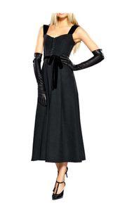 APART Corsagenkleid m. Samt, schwarz Schnäppchen Größe: 32