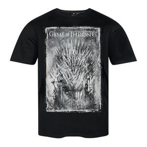 XXL Replika T-Shirt schwarz Game of Thrones, Größe:3XL