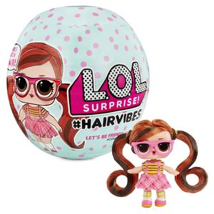MGA Entertainment Minipuppe L.O.L. Surprise! #Hairvibes Tots Series A, Mädchen