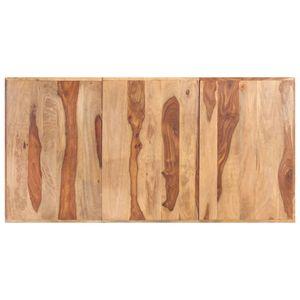 vidaXL Tischplatte Massivholz Palisander 16 mm 200 x 100 cm