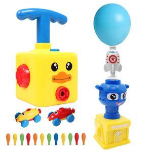 Luftbetriebene Ballons, elektrischer Ballonstart, Kinderspielzeug, Lernspaß