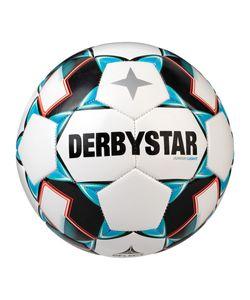DERBYSTAR Junior Light 350g Leicht-Fußball weiß/grün/schwarz 5