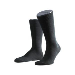 FALKE Herren Socken - Family, Strümpfe, Allrounder, Uni, Baumwollmischung, 39-50 Schwarz 39-42 (UK 6-8)