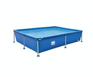 Wehnke - Happy People 77516 - Stahlrahmen / Frame Pool rechteckig 228x159x42 cm, blau - ohne Pumpe