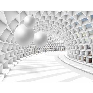 3D - Kugel 9223c RUNA 3D - Kugel VLIES FOTOTAPETE XXL DEKORATION TAPETE− WANDDEKO 352 x 250 cm