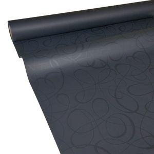 50m x 1,00m JUNOPAX® Papiertischdecke LOOP schwarz
