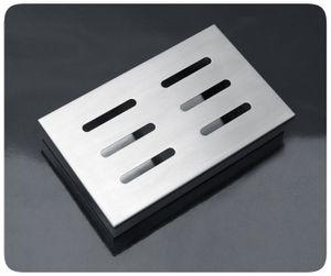 PRECORN Räucherbox aus rostfreiem Edelstahl für Gas- und Holzkohlegrill Smokerbox Smoker Grillzubehör
