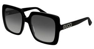 Gucci Sonnenbrillen GG0418S 001 Schwarz Damen