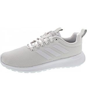 adidas Lite Racer Damen Low Sneaker Weiss Schuhe, Größe:39 1/3