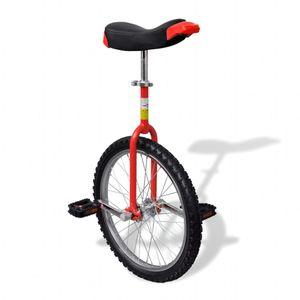 dereoir Einstellbares Einrad 50,8 cm rot