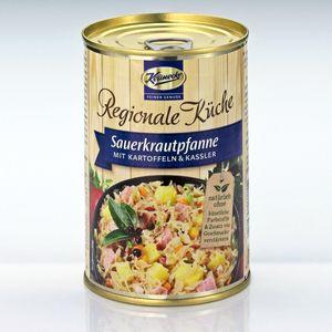 Keunecke Fertiggerichte, Sauerkraut-Pfanne