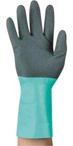 Ansell Handsch.AlphaTec 58-128 Gr. 10 schwarz/grün