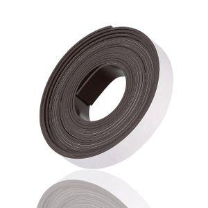 Magnetband Magnetfolie Magnetstreifen Magnet Band Streifen Folie Selbstklebend Stark Klebemagnete Klebe Magnete 2.5m