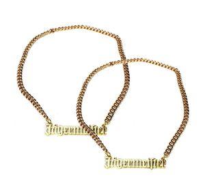 Jägermeister Goldkette Halskette aus Metall (kein echtes Gold) Aktion - 2 Stück