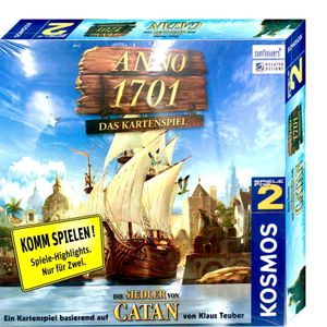 KOSMOS 6901440 - Anno 1701, Das Kartenspiel