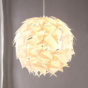 Hängeleuchte Corin Weiß Kunststoff Skandinavischer Stil Lampenwelt Pendellampe