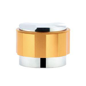 Edelstahl Doppel-kopf Kaffee Tamper Dispenser Coffeeware für Home DIY Cafe Liefert glod 51mm
