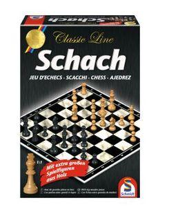 Schmidt Spiele Familienspiel Strategiespiel Schach große Spielfiguren 49082