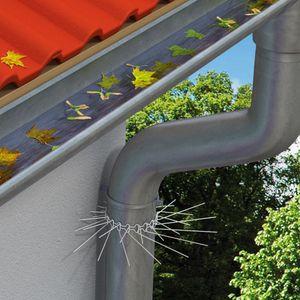 Marderabwehrgürtel für Fallrohre bis zu Ø 100 mm - Marderschutz Marderstopp individuell anpassbar durch Stecksystem der Gürtelglieder