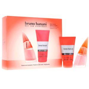 Bruno Banani Absolute Woman Geschenkset Eau de Toilette 20ml & Shower Gel 50ml