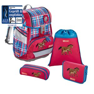 Step by Step 2in1 Schulranzen-Set Horse Family 4-teilig
